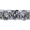 Round Cut Eternity Band Ring, J-K, VS2-SI1 #1