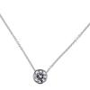 1.01 ct. Round Cut Pendant Necklace #1