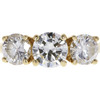 1.0 ct. Round Cut 3 Stone Ring, J, SI1 #3