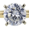 1.10 ct. Round Cut Solitaire Ring, H, I1 #4
