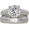 2.79 ct. Asscher Cut Bridal Set Tiffany & Co. Ring, G, VS1 #3