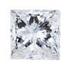 1.51 ct. Princess Cut Solitaire Ring, H, I1 #1