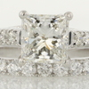 1.53 ct. Princess Cut Bridal Set Ring #1