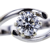 0.80 ct. Round Cut Solitaire Ring, E, SI1 #4