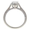 0.69 ct. Pear Cut Bridal Set Ring, D, SI1 #4