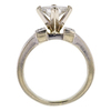 0.95 ct. Princess Cut Bridal Set Ring, H-I, VS2 #3
