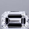 1.03 ct. Emerald Cut Ring, E, VS2 #1