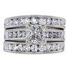 1.65 ct. Princess Cut Bridal Set Ring #1