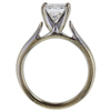 1.15 ct. Princess Cut Solitaire Ring, H-I, SI1 #3