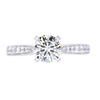 1.10 ct. Round Cut Solitaire Ring, J, VS2 #1