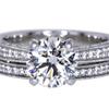 1.77 ct. Round Cut Bridal Set Ring #3