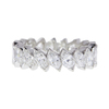 Marquise Cut Eternity Band Ring, G-H, SI2-I1 #1