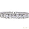 Round Cut Eternity Band Ring, G-H, SI1-SI2 #3