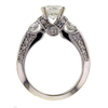 Art Deco GIA 1.51 ct. Round Cut Solitaire Ring #3