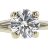 0.69 ct. Round Cut Bridal Set Ring, G-H, VS2 #1