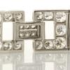 Baguette Cut Link Bracelet #3
