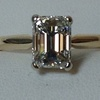 1.89 ct. Emerald Cut Solitaire Ring #1
