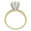 0.95 ct. Round Cut Bridal Set Ring, I-J, VS1 #2