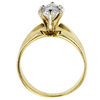 1.28 ct. Marquise Cut Solitaire Ring, E, VS1 #2