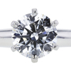 1.27 ct. Round Cut Solitaire Tiffany & Co. Ring, H, VS2 #4