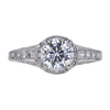 1.06 ct. Round Modified Brilliant Cut Solitaire Ring, J, VS1 #4