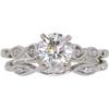 0.88 ct. Round Cut Bridal Set Ring, I, SI1 #3