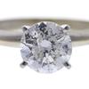1.51 ct. Round Cut Bridal Set Ring, G, I2 #4