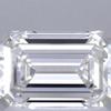 1.02 ct. Emerald Cut Bridal Set Ring, H, VVS1 #2