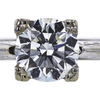 2.01 ct. Round Cut Solitaire Ring, I, SI1 #4