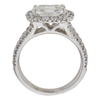 1.36 ct. Cushion Cut Halo Other Ring, H, VS2 #4