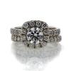 .95 ct. Round Cut Bridal Set Ring #3