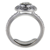 0.65 ct. Round Cut Bridal Set Ring, K-L, SI1 #3