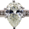 2.51 ct. Pear Cut Bridal Set Ring #3