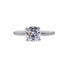 1.24 ct. Round Cut Solitaire Ring, F, SI1 #3