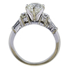 1.51 ct. Round Cut Bridal Set Ring, K, VS2 #1