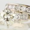 1.03 ct. Round Cut Bridal Set Ring #1