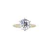 2.40 ct. Old European Cut Solitaire Ring, L, SI1 #3
