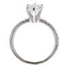 0.97 ct. Round Cut Bridal Set Ring, H-I, I1 #3