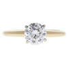 0.98 ct. Round Cut Solitaire Ring, G, I2 #3