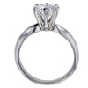 1.00 ct. Round Cut Bridal Set Ring, G, SI1 #3