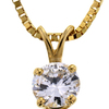 .99 ct. Round Cut Pendant Necklace #4