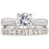 0.72 ct. Round Cut Bridal Set Ring, G, SI1 #3