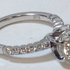 1.50 ct. Round Cut Bridal Set Ring #4