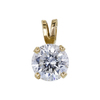 1.11 ct. Round Cut Pendant Necklace, G, I1 #3