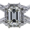 1.53 ct. Emerald Cut Solitaire Ring, J, VS1 #4
