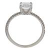 1.25 ct. Cushion Cut Ring, D, IF #4