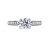 0.90 ct. Round Cut Solitaire Ring, K, SI1 #3