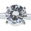 2.01 ct. Round Cut Solitaire Ring, J, SI2 #4