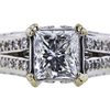 1.03 ct. Princess Cut Solitaire Ring, F-G, I1 #2
