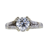 1.05 ct. Round Cut Solitaire Ring, H, SI1 #3